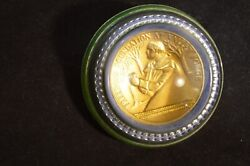George Washington, Freedoms Foundation Valley Forge Medal - Glass Paperweight