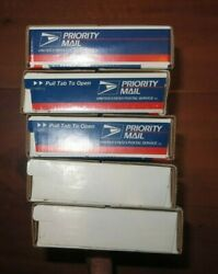 All 5 2001 Sealed Boxes - Pandd Us Mint State Quarter Rolls - States 11-15