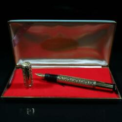 Used 1920 Waterman Ideal42 Safety Fountain Pen 18kgf Nib 14k With Case