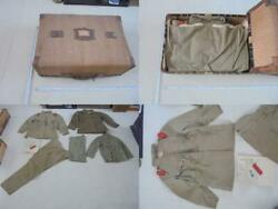Imperial Japanese Army Wwii Soldier Military Uniform Etc. Light Brown Antique