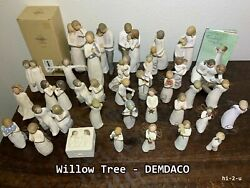 Willow Tree Figurines By Susan Lordi + Demdaco Figurines Many Choices = Lot A