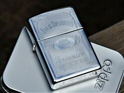 Zippo Lighter - Jack Daniels - Silhouette - Old No. 7 - Tennessee Whiskey - Rare