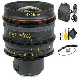 Tokina Cinema 16-28mm T3.0 With Sony-e Mount + Deluxe Lens Cleaning Kit