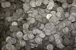 1000 Us 90 Silver Coins Bullion Mixed Lot - Mercury Dimes And Roosevelt Dimes