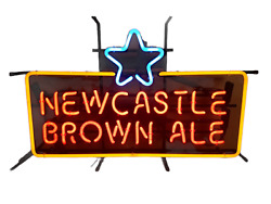 Newcastle Brown Ale Beer Neon Signtested Working
