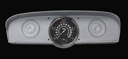 1961 1962 1963 1964 1965 1966 Ford F-100 Classic Instruments Gauge Package Black