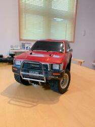 Used Kyosho Toyota Hilux Surf Radio Control Toy With Controller Battery