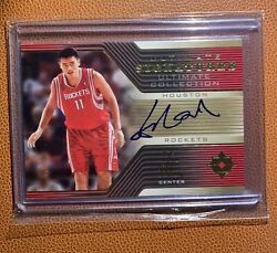 Yao Ming 2004-andlsquo05 Ultimate Signatures Us-ym Extremely Rare Sp Autograph China