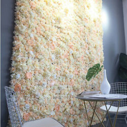 Silk flowers wall flowers decoration for wall photo space showcase decor