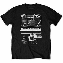 At The Drive-in Monitor Official Tee T-shirt Mens