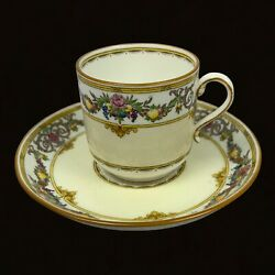 Minton Footed Demitasse Chatham Cup And Saucer Mint Condition