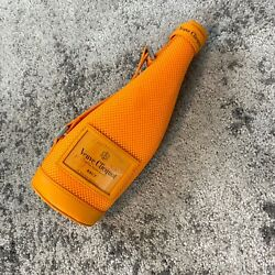 New Veuve Clicquot Zippered Ice Jacket Cover Collectible Fits 750ml Bottle