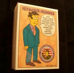 The Simpsons Trading Card Set Series 2 Skybox 80 Cards