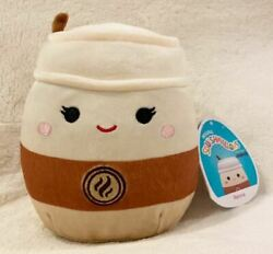 """Squishmallow Renne 5"""" Latte Coffee Drink Plush Claire's Exclusive New"""
