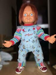 Used 2002 Medicom Toy Good Guy Doll Life Size Childs Play 2 Chucky Figure