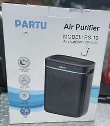 PARTU HEPA Air Purifier for Large Rooms BS 10 Smoke Dust Pollen
