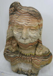 Indian Native American Tribal Chief Antique Gift Christmas Reservation Warrior