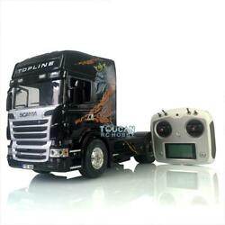 Hercules Rc 1/14 Scania R730 Highline Tractor Truck Painted Gripen Radio Light