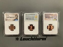 2019w Lincoln Shield Uncirculated Proof And Reverse Proof Cents Ms70 And Pf70