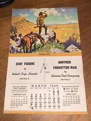 1945 Genesee Tool Company Pawnee Bill Native American Indian Booklet Rare File