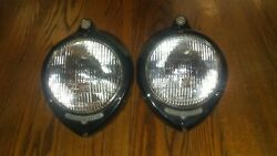 Nos 1940 Ford Sealed Beam Headlights