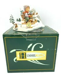 Goebel Hummel Ride Into Christmas Hum 396 And Winter Rides 929-d Excellent