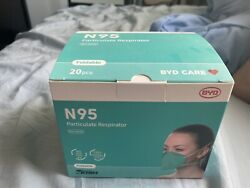 Byd Care N95 Particulate Respirator 1 Case Of 960 Masks