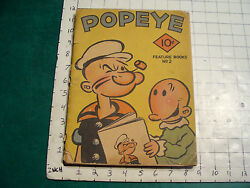 Vintage Book Scarce--1935 Popeye Feature Book 2