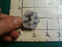 Vintage Spinning Top For Early Game Before Dice Were Used, 1800's