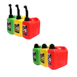 1x20l Plastic Spare Fuel Cans Motorcycle Car Oil Petrol Diesel Can Canister Tank