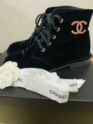 Including Postage Sold Out Immediately Velour Logo Boots Size Women