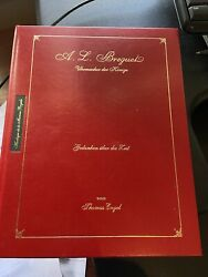 """Rare And Signed Thomas Engel """"breguet Watchmaker To Kings"""". Book Watch Tourbillon"""