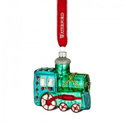 Waterford Holiday Heirlooms 2016 Brights Train Christmas Ornament New 40021215