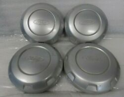 Oem Ford F-150 2004-2019 6 Lug Silver Painted Center Caps 4l3z1130ea C3557/3778