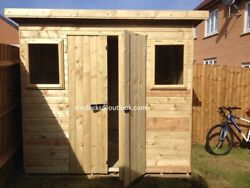Shed Garden Outdoor Workshop Tool Store Heavy Duty Tanalised Bike Store Gym Bar