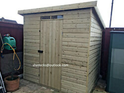 Security Shed Workshop Tool Store Heavy Duty Tanalised Bike Store Gym Bar Pent