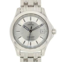 Omega Seamaster 2501.31.00 Automatic Stainless Steel Silver Men's Watch [u0831]