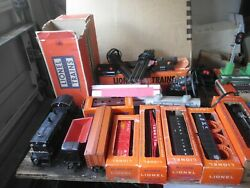 Large Lot Lionel Trains And Accessories