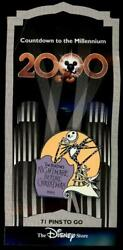 Ds Countdown To The Millennium Series 72 Nightmare Before Christmas Disney Pin
