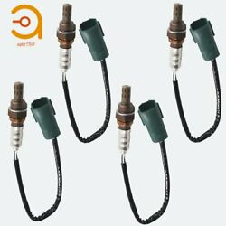 4pcs Up And Downstream Oxygen O2 Sensor For Nissan Murano 3.5l 2003