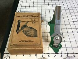 From Vintage Can Opener Collection --unused Boye Jar And Bottle Cap Wrench In Box