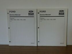Ford New Holland Tractor 1200 1300 1500 1700 1900 Service Repair Manuals 1 And 2