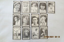 {lot Of13} 1975 Tmca All-time Greats Baseball Cards Ty Cobb, T. Williams