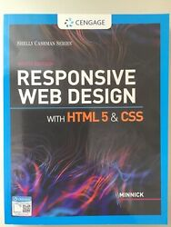 New Responsive Web Design With Html 5 And Css 9th Ninth U.s. Edition By Minnick