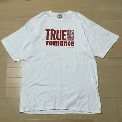 Used 1990s True Romance Vhs Special Box Set Tee Shirt Xl Size Very Rare