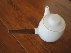 Vintage Henning Koppel Coffee Pot White Color H15cm B And G Display Very Rare