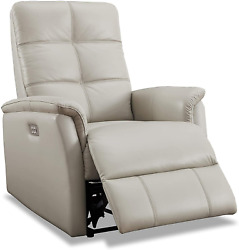 Hydeline Logan Power Head Rest Leather Recliner Chair With Built In Usb Port Ic