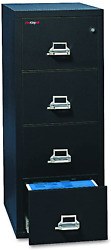 Fireproof Vertical File Cabinet, 4 Legal Sized Drawers, 52.25in H X 20.81in W X