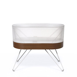 Snoo Smart Sleeper Baby Bassinet - Bedside Crib With Automatic Rocking Motions A