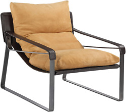 Moeand039s Home Collection Connor Club Chair Tan 34 L X 30.5 W X 31 H